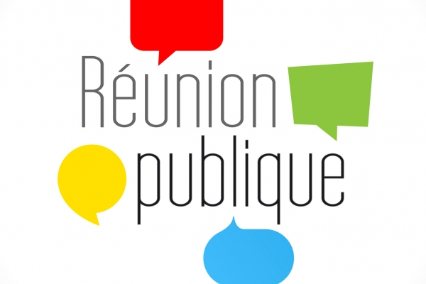 Réunion publique dans le cadre de l'élaboration du PLU - Plan Local d'Urbanisme - à 20h00