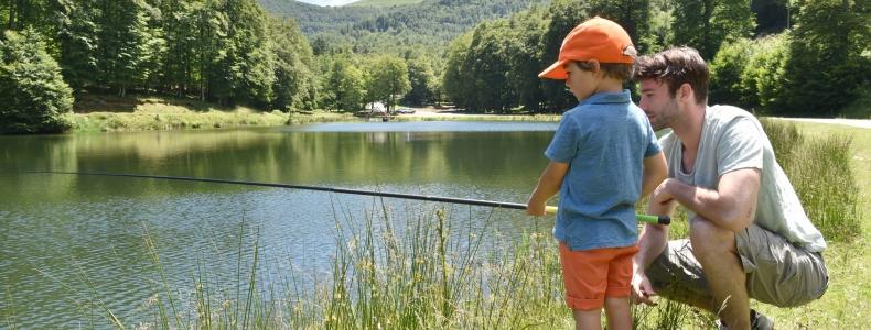 Pêche et randonnée